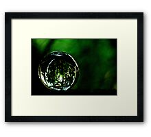 Saved The Green World...Got Explore Featured Work, Win in the challenges... Framed Print