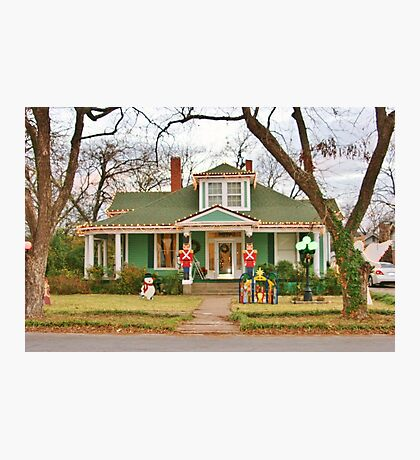 Decorated for Christmas  Photographic Print