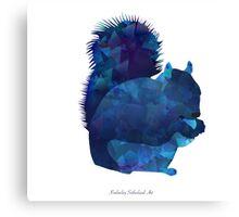 The Squirrel Canvas Print