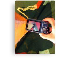 Look Through My Lens Canvas Print