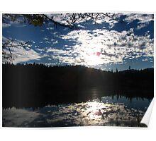 Double Sky - Outside Grants Pass, Oregon Poster