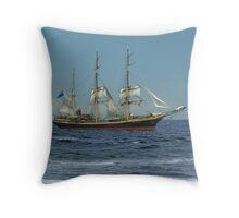 Under Short Sail Throw Pillow