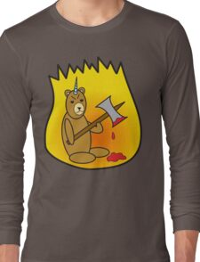Spicy Unibear of Pain Long Sleeve T-Shirt