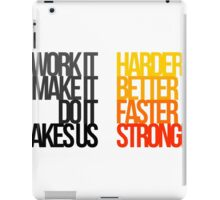 Daft Punk - Harder Better Faster Stronger iPad Case/Skin