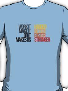 Daft Punk - Harder Better Faster Stronger T-Shirt