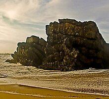Adraga beach   -  2 by BaZZuKa
