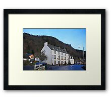 The Weem Hotel Framed Print