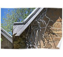 Roots under Eaves - Greendale Half Church Poster