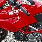 Red Ducati by Diane E. Berry
