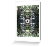 Whiskey Creek Reflection - The Rogue River, Southern Oregon Greeting Card