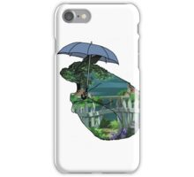 Totoro - by the sea iPhone Case/Skin