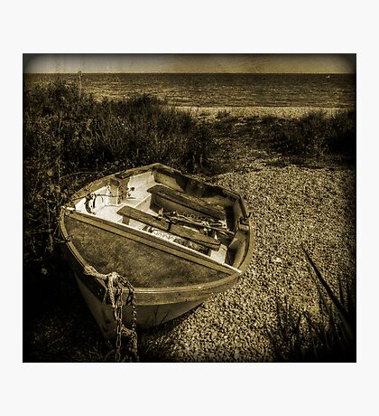 Lone Boat Photographic Print