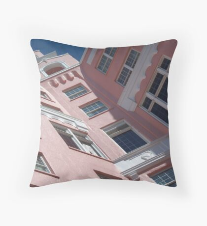 In the Window and on the Roof - Pass-a-Grille, FL Throw Pillow