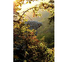 Sunrise , framing the Hawksbill Crag Photographic Print