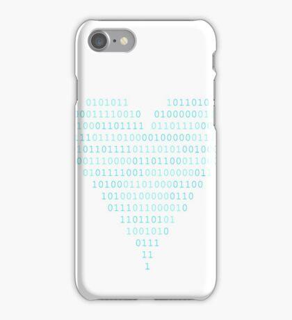 Binary - Love Heart iPhone Case/Skin