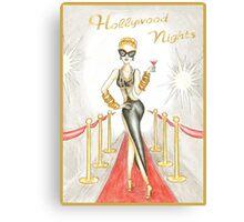 Mocktail Hollywood Nights Canvas Print