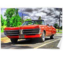 Pontiac GP Coupe. Poster