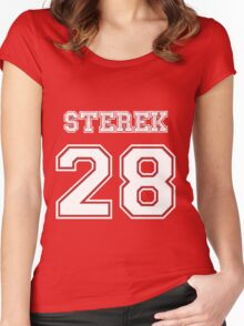 Sterek 28 Women's Fitted Scoop T-Shirt