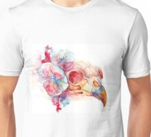 crow skull Unisex T-Shirt