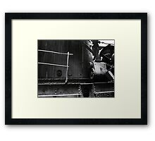 Steam Donkey Project #194 Framed Print