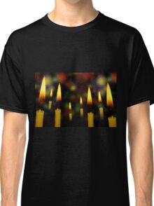 Yellow Candles 2 Classic T-Shirt