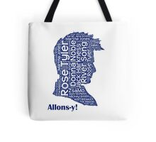 Allons-y, 10th Doctor, Doctor Who Tote Bag