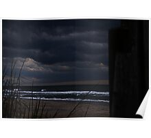 By The Storm Torn Shoreline Poster