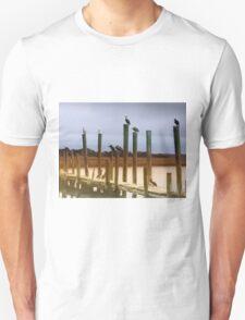 Waiting on the Shrimp Boat Unisex T-Shirt