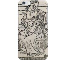 Hic Codex Auienii Continent Epigrama Astronomy Rufius Festivus Avenius 1488 Astronomy Illustrations 0151 Constellations iPhone Case/Skin