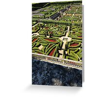 French gardens Greeting Card