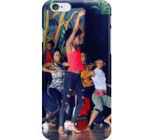 Native dancers in Nairobi Safari Park, KENYA iPhone Case/Skin