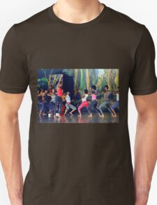 Native dancers in Nairobi Safari Park, KENYA T-Shirt