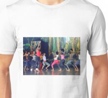 Native dancers in Nairobi Safari Park, KENYA Unisex T-Shirt
