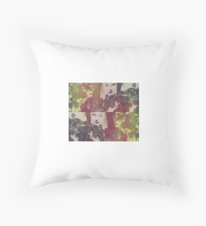 Lion in Care Throw Pillow