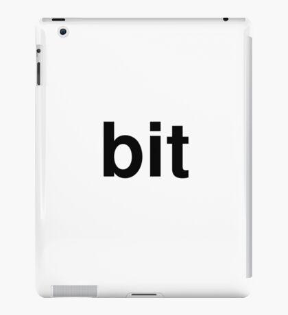 bit iPad Case/Skin