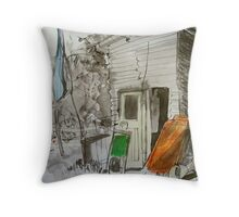 nursery shop Throw Pillow