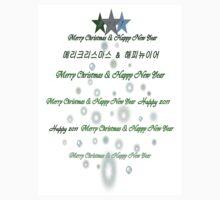 Christmas mas tree with txt line art by cheeckymonkey