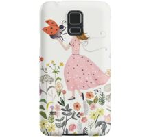 My pet the ladybug Samsung Galaxy Case/Skin