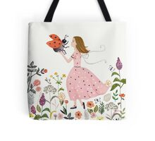 My pet the ladybug Tote Bag
