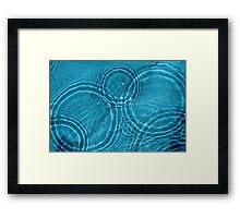 Water drops Framed Print