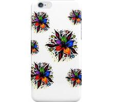 Pretty Bright Flowers iPhone Case/Skin