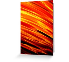 Conflagration? Greeting Card