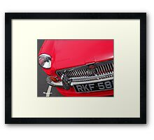 Oh B-have Baby! Framed Print