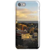 Sunset over Flagstaff iPhone Case/Skin