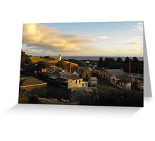 Sunset over Flagstaff Greeting Card