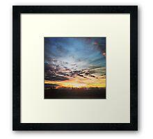 Sun Seaker Framed Print