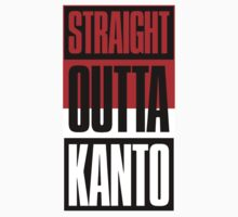 Straight Outta Kanto One Piece - Short Sleeve