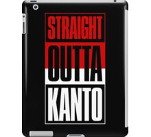 Straight Outta Kanto iPad Case/Skin
