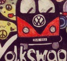 VW'dublife Sticker