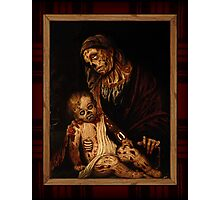 'round yon virgin zombie and child Photographic Print